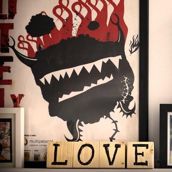 Cubos LOVE, Tienda Online Ilovebilbao, Bilbolovers